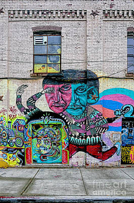 Street Art 2 Print by Bob Stone
