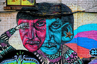 Street Art 3 Print by Bob Stone