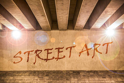 Street Art Print by Semmick Photo