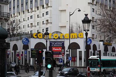 Street Scenes - Paris France - 011343 Print by DC Photographer