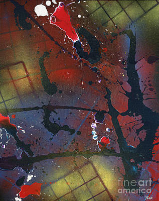 Roz Barron Abellera Painting - Street Spirit by Roz Abellera Art
