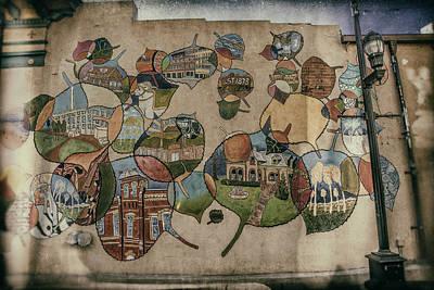 Street Wall In Fort Collins Original by Lijie Zhou