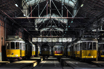 Streetcars I Print by Marco Oliveira
