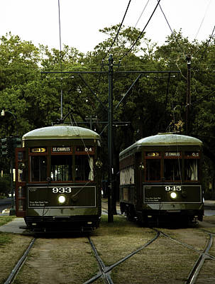Streetcar Photograph - Streetcars by Susie Hoffpauir