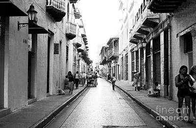 Streets Of Cartagena I Print by John Rizzuto