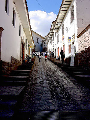 Peru Photograph - Streets Of Cusco by Roger Burkart
