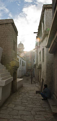 East India Photograph - Streets Of Leh by Aaron S Bedell