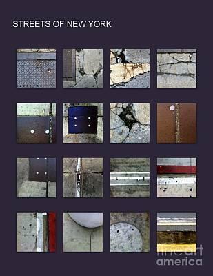 Streets Of New York Poster Print by Marlene Burns