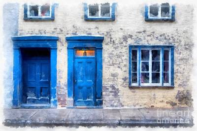 Quebec Streets Photograph - Streets Of Old Quebec 2 by Edward Fielding