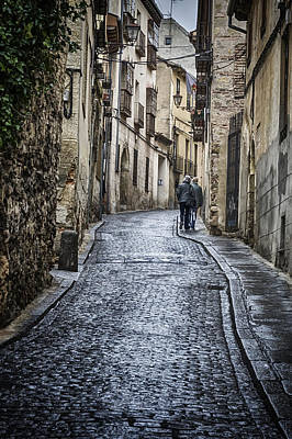Streets Of Segovia Original by Joan Carroll