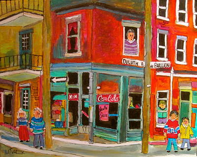 Painting - Streets Were Paved With Gold by Michael Litvack