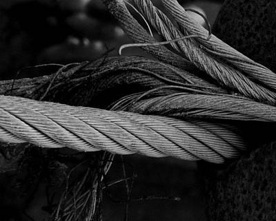 Strength Of Strings Print by Odd Jeppesen