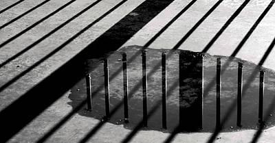 Stripes And Reflections 1 Print by Arkady Kunysz