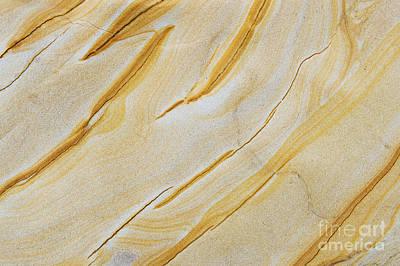Stripes In Stone Print by Tim Gainey