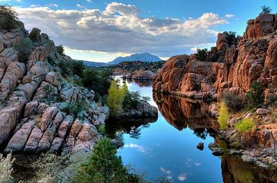 Watson Lake Photograph - Strong And Peaceful by Thomas  Todd
