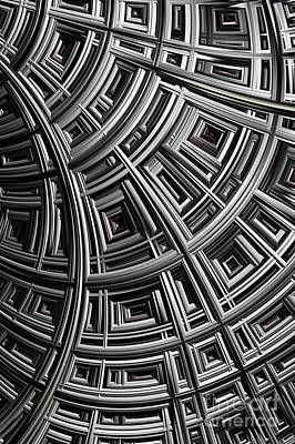Web Digital Art - Structure by John Edwards