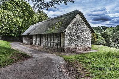 Stryd Lydan Barn Print by Steve Purnell