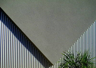 Stucco Triangle Print by Randall Weidner