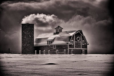 Stuck In The Cold Print by Darren  White