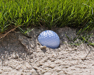 Golf Photograph - Stuck In The Sand by Brett Price
