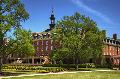 Student Union Photograph - Student Union At Oklahoma State by Ricky Barnard