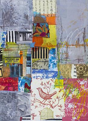 Crayons Mixed Media - Studio 518 by Elena Nosyreva