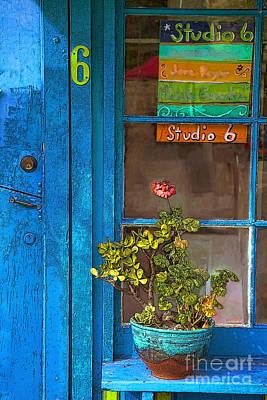 San Diego Artist Photograph - Studio 6 by Elena Nosyreva