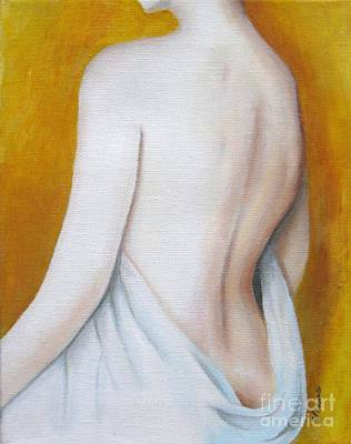 Painting - Study Of A Woman by Venus