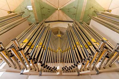 Stuttgart Organ Print by Jenny Setchell