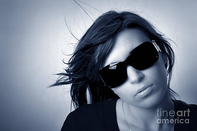 Eye Photograph - Stylish Portrait Of Young Woman by Michal Bednarek