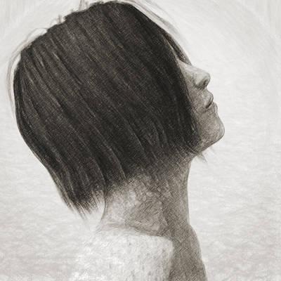 Philosophical Drawing - Su by Taylan Apukovska