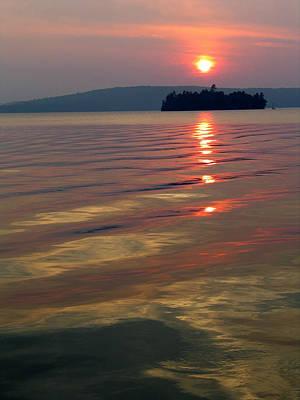 Igor Baranov Photograph - Subset At Lake Of Bays by Igor Baranov