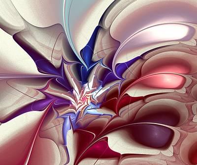 Subspace Fracture Print by Anastasiya Malakhova