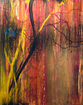 Subconscious Painting - Subspace Mind - Shifting Planes by John Ashton Golden