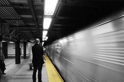 Subway Print by Enrique  Coloma