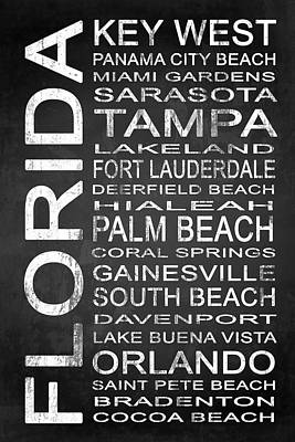 Subway Florida State 3 Print by Melissa Smith