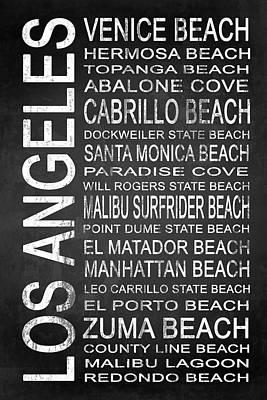 Santa Monica Mixed Media - Subway Los Angeles 3 by Melissa Smith