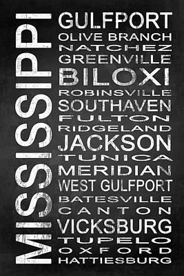 Dark Digital Art - Subway Mississippi State 1 by Melissa Smith