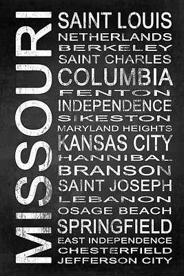 Missouri Digital Art - Subway Missouri State 1 by Melissa Smith