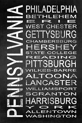 Subway Pennsylvania State 1 Print by Melissa Smith