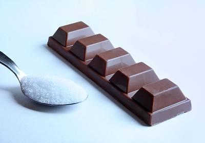 Junk Photograph - Sugar In Chocolate by Cordelia Molloy
