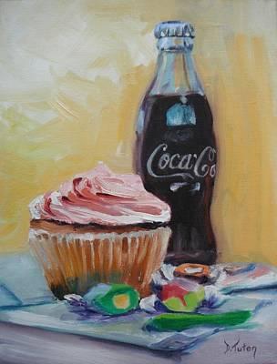 Fish Painting - Sugar Overload by Donna Tuten