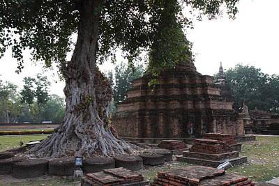 Ancient Photograph - Sukhothai Historical Park - Sukhothai Thailand - 011319 by DC Photographer