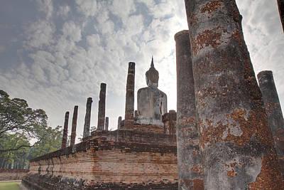 Sukhothai Historical Park - Sukhothai Thailand - 011328 Print by DC Photographer