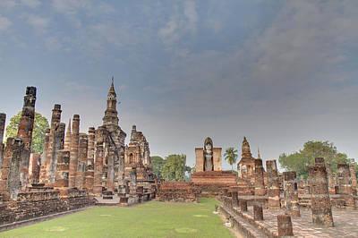 Sukhothai Historical Park - Sukhothai Thailand - 011329 Print by DC Photographer