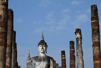 Sukhothai Historical Park - Sukhothai Thailand - 011338 Print by DC Photographer