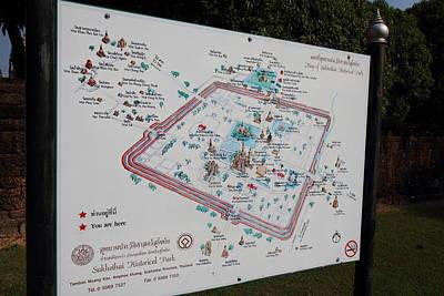 Sukhothai Historical Park - Sukhothai Thailand - 011349 Print by DC Photographer
