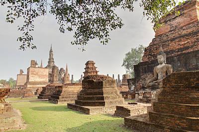 Ancient Photograph - Sukhothai Historical Park - Sukhothai Thailand - 01135 by DC Photographer
