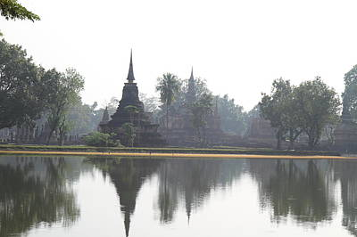 Sukhothai Historical Park - Sukhothai Thailand - 011366 Print by DC Photographer
