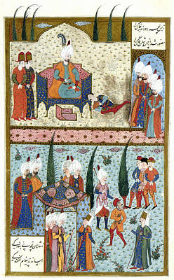 Ottoman Turkish Envoys Painting - Suleiman The Magnificent (c1494-1566) by Granger
